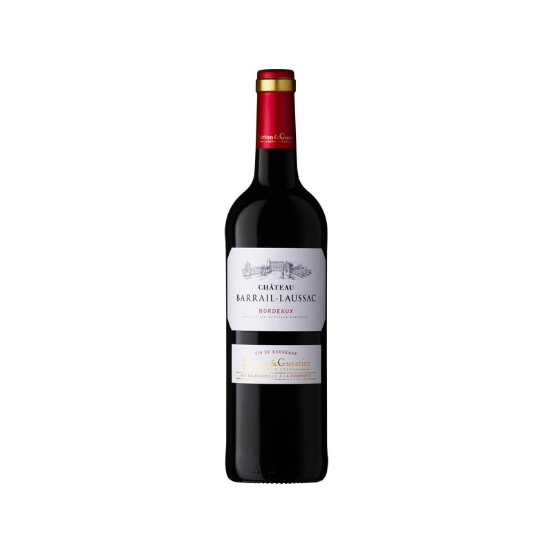 B&G Chateau Barrail-Laussac, Bordeaux (Шато Барай Лоссак, Бордо), красное - 0,75