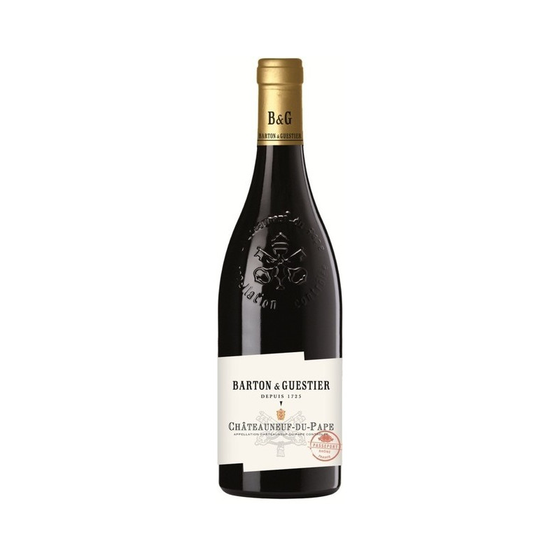 B&G Chateauneuf-du-Pape (Шатенёф дю Пап), красное - 0,75