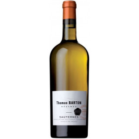 Sauternes Blanc Thomas Barton (Сотерн Блан Томас Бартон), белое - 0,75