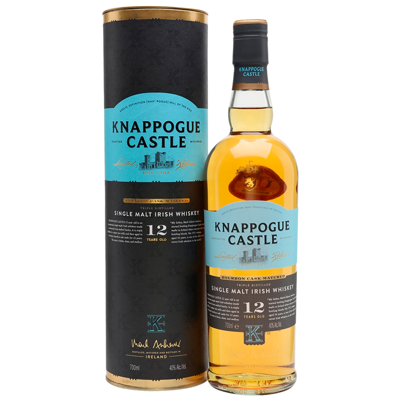 Knappogue Castle 12 YO Single Malt 0.7