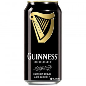 Guinness Draught In Can 0.44L пиво