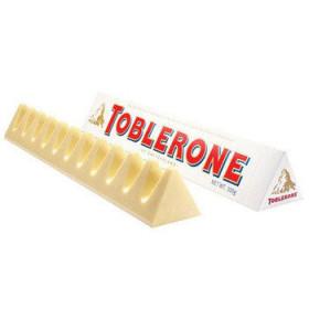 Toblerone белый с медово-миндальной нугой 100 г