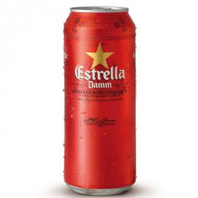 Estrella Damm светлое ж/б 0.5